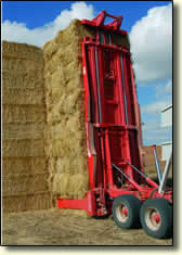 autostack stacking bales picture